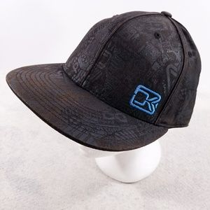 Dakine DK 210 Fitted Flexfit Black & Blue Hat
